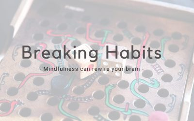 Breaking Bad Habits – Mindfulness rewires your brain