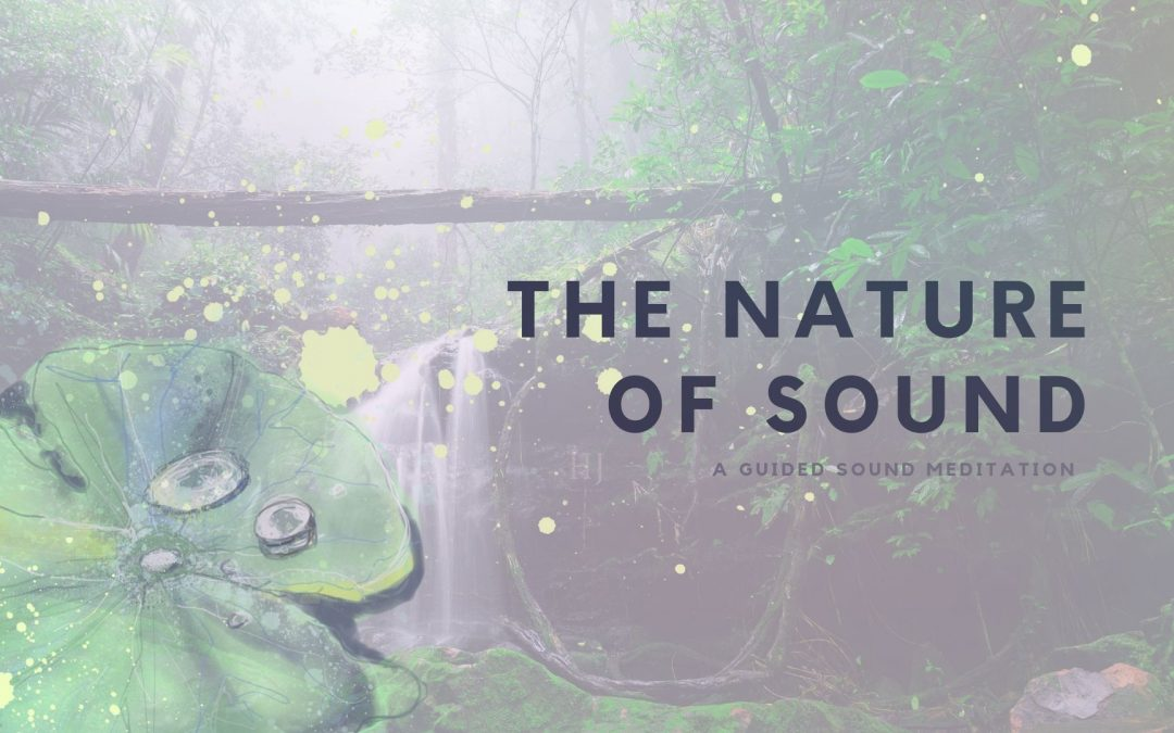 The Nature of Sound – A Sound Meditation Activity